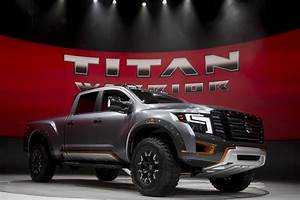 Nissan Finally Redesigns Titan Full-size Pickup