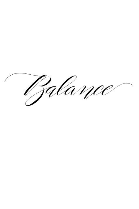 i like calligraphy | Balance tattoo, Word tattoos, Cover tattoo