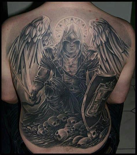 Tatouage Ange Contre Démon  Modèles Et Exemples
