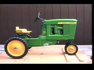 John Deere 10 Pedal Tractor - Eska - YouTube