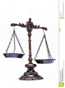 Unbalanced Justice Scales Clip Art