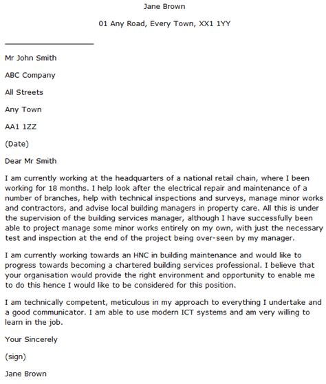 Service Engineer Cover Letter by Trainee Building Services Engineer Cover Letter Exle