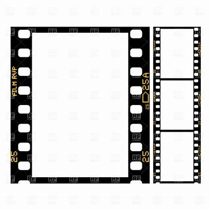 Border Hollywood Clipart Clip Film Strip Reel