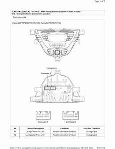 2012 Hyundai Accent Radio Wiring Diagram