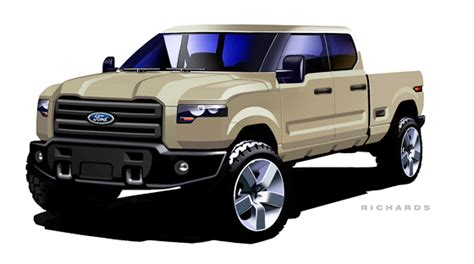 ford atlas concept takes shape pickuptruckscom news