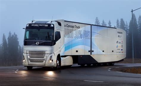 new volvo semi truck volvo truck concept points to a future of hybrid big rigs