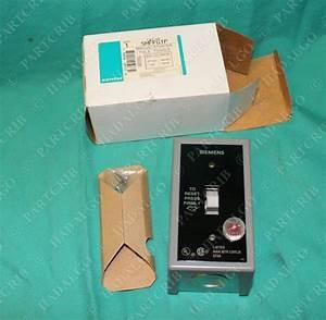 Siemens  Smffg1p  Manual Motor Starter 1pole Toggle Switch