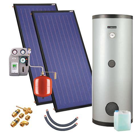 solaranlage komplettpaket 4 5m 178 250l solar warmwasser ebay