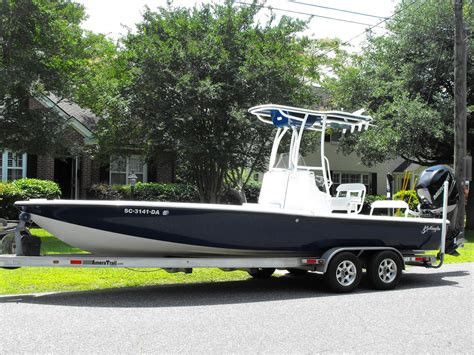 Yellowfin Boats Charleston by 2009 Yellowfin 24 Bay The Hull Boating And
