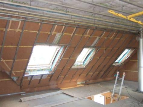 plafonds et ossature m 233 tallique ti breizh maison passive en bretagne