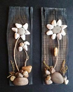 Pebble Art, Rock Art, Pebble Art Flowers, Rock Art Flowers ...