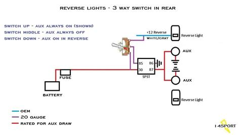 wiring backup lights control circuit s jeep wrangler