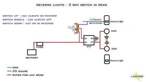 Wiring Backup Lights Control Circuit Jeep Wrangler
