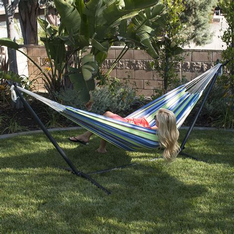 10 Foot Hammock by 10 2 Person Hammock Stand W Carrying Outdoor