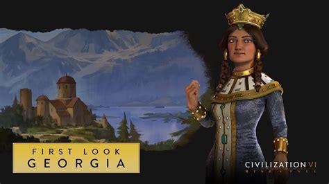 Civilization Vi Rise And Fall  First Look Georgia Youtube