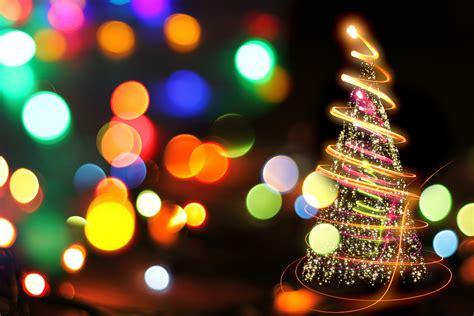 high hat lights tree bokeh effect hd wallpapers hd wallpapers