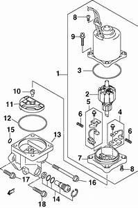 Johnson Power Trim  Tilt Electric Parts For 2002 60hp