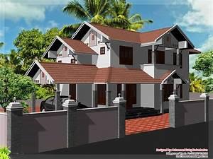 2000, Sq, Ft, Kerala, Style, Home, Design