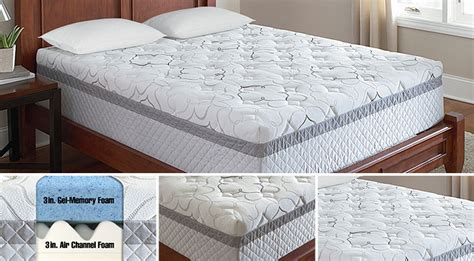 costco mattress reviews novaform 14 gel memory foam mattress costco