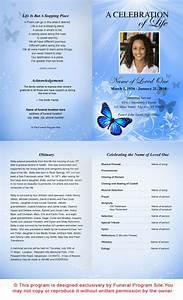 7 best images of printable funeral program templates With free downloadable funeral program templates