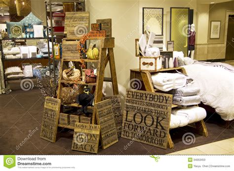 Home Decor Warehouse : Furniture Home Decor Department Store Editorial Stock