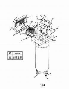 Devilbiss Model Irl6560v Air Compressor Genuine Parts