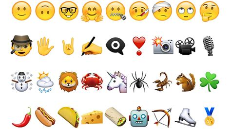 the new iphone emojis arrived abc30