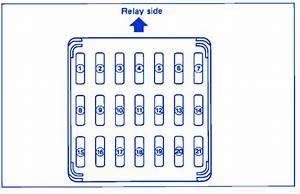 Subaru Legacy 1993 Ignition Fuse Box  Block Circuit Breaker