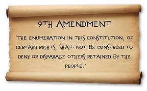 Does The Ninth Amendment Constitutionally Protect ...