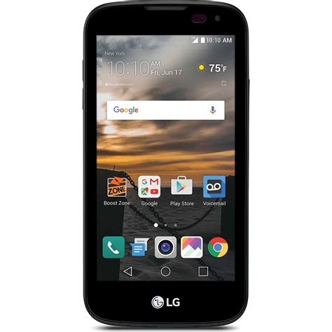 boost mobile smartphones boost mobile lgls450abb lg k3 smartphone