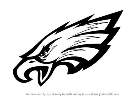 learn   draw philadelphia eagles logo nfl step