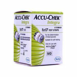 Compare Buy Accu Chek Integra 17 39 S Test Strips Online In