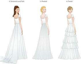 wedding draping fabric wedding dress skirt types shapes overlays and textures