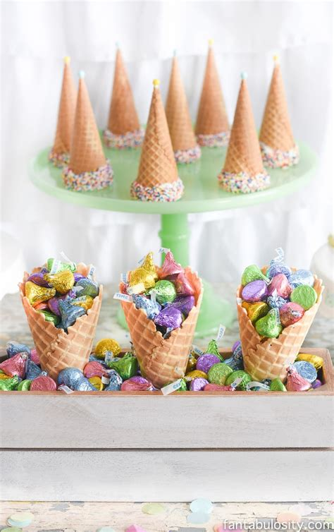 ice cream party decorations treats theme ideas