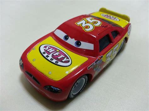 cars 1 autos mattel disney pixar cars no 35 shifty metal car 1 55 new in stock ebay