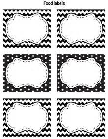 free black white printable labels celebrations at home