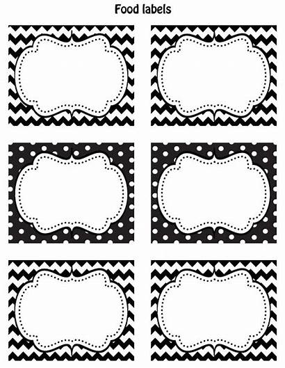 Labels Printable Printables Label Blank Tags Templates