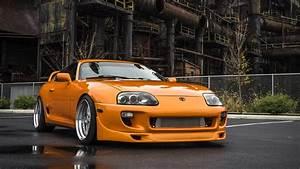 Toyota Supra (Fast And Furious Movie Car) 4K UltraHD ...
