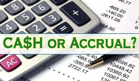 cash accounting  accrual accounting skfinancial