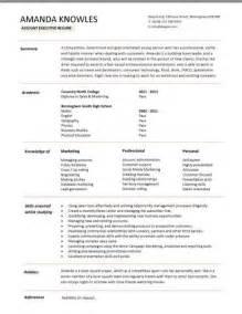resume skills and abilities administrative assistant sales executive cv template exle marketing executive revenue incentive services cv