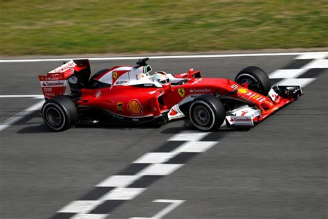 pre season testing sebastian vettel fastest