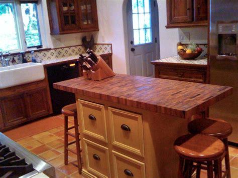 kitchen islands home depot mesquite custom wood countertops butcher block