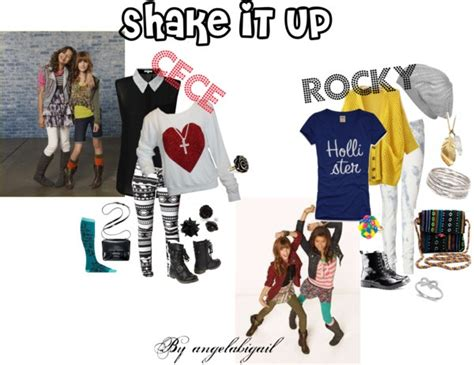 dominique hardy polyvore rocky and cece from shake it up inspired clothes