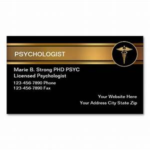 Psychologist business cards for Psychology business cards