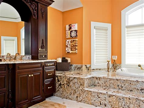 warm bathroom color schemes decorating with warm rich colors color palette and