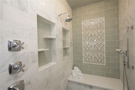 Glass Tile Bathroom Ideas by 25 Clear Glass Bathroom Tiles Pictures 2019