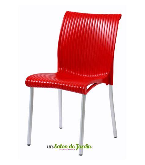 chaises rouges chaise cuisine
