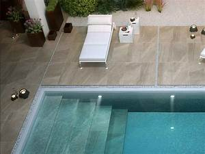 carrelage en gres cerame 60x60 epaisseur 2 cm sur plot With photo carrelage terrasse exterieur 3 vente et pose de margelles de piscine en pierre sur
