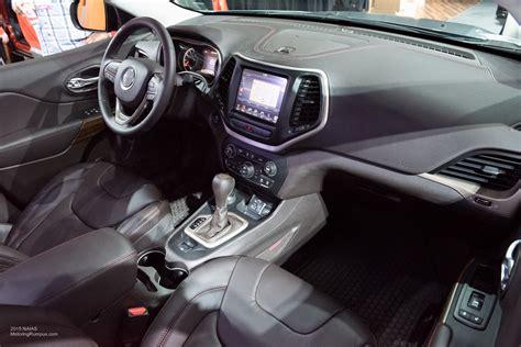 2015 Naias Jeep Cherokee Trailhawk Interior Motoring Rumpus