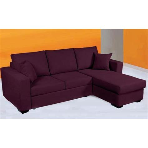 vente canape d angle convertible canap 233 d angle convertible en lit tissu achat vente canap 233 sofa divan cdiscount